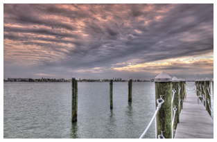 boating dock boca ciega bay